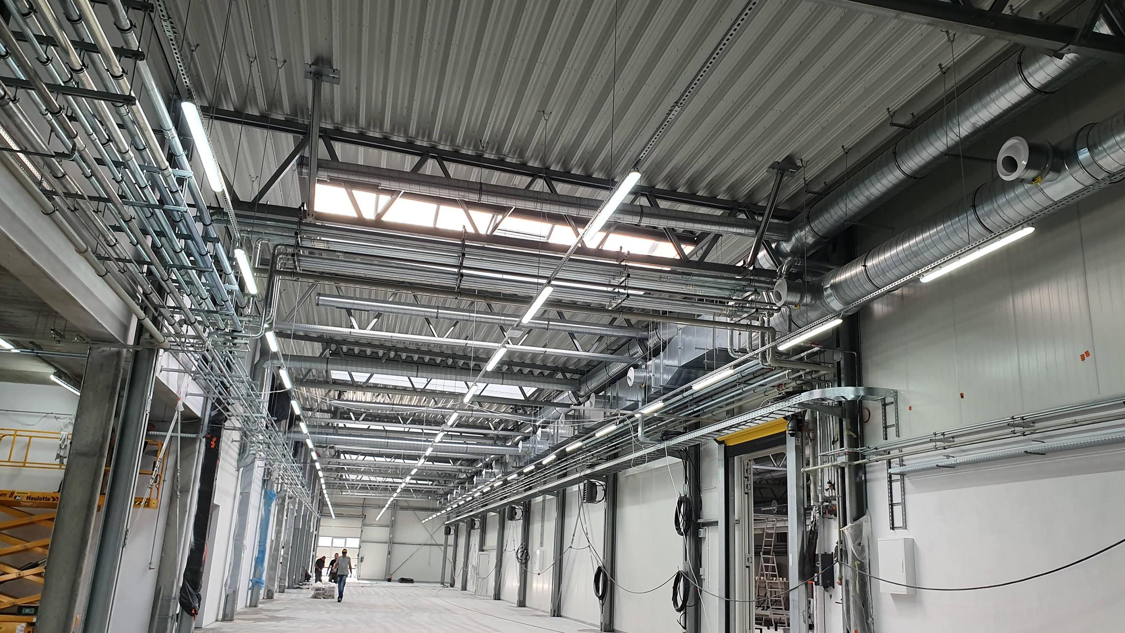 Budowa hali produkcyjnej TRIUMF w Stalowej Woli-1