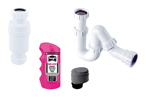 Plumbing, drain and fittings
