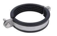 Stainless Steel Heavy Duty Clamp with Lining (M12, M16)