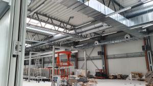 Budowa hali produkcyjnej TRIUMF w Stalowej Woli-4